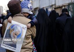 تصاویر تشییع پیکر سردار قاسم سلیمانی در تهران