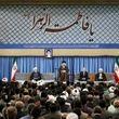 جای خالی آیت الله هاشمی در دیدار امروز مسئولان نظام با رهبر انقلاب + عکس