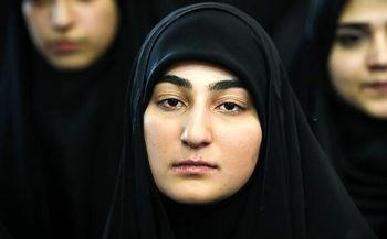 واکنش دختر سردار سلیمانی به سوالی درباره تفاوت ترامپ و بایدن