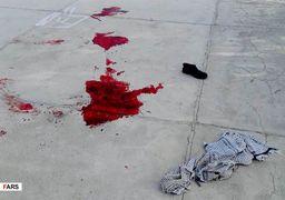 اولین تصاویر از حمله مسلحانه به پایگاه بسیج در نیکشهر