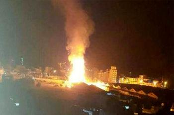 یمن به عربستان حمله کرد