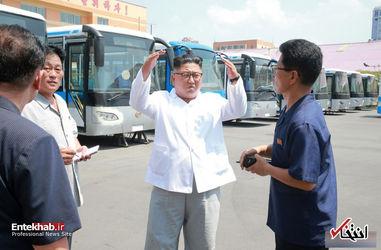 بازدید کیم جونگ اون