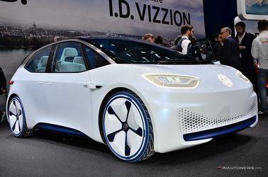 فولکس آی.دی که تصویر آینده محصولات برقی بزرگترین خودروساز اروپا را با خود دارد