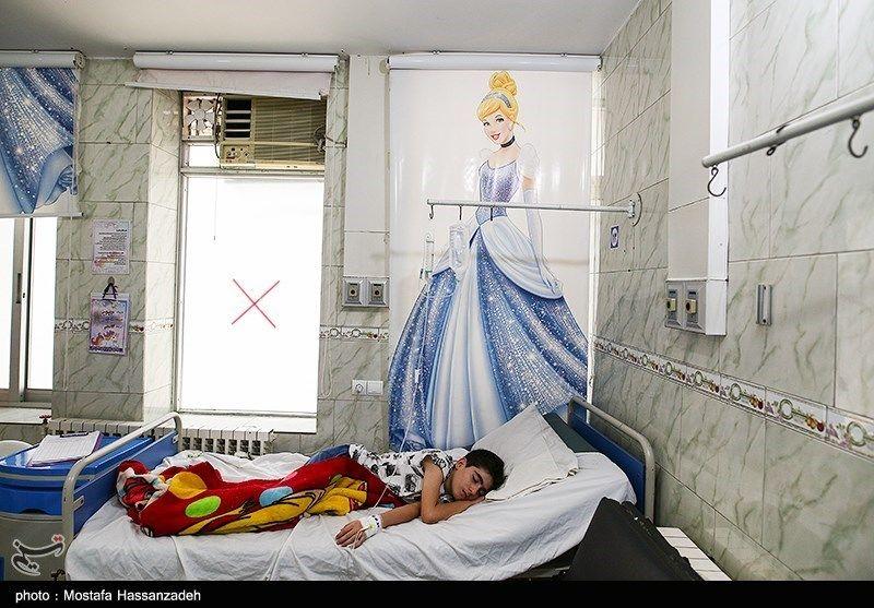 تصاویر: بخش کودکان مشکوک به کرونا در بیمارستان طالقانی گرگان