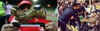 دو تقدیر مشابه ازسرمایه های ارزشمند فوتبال در ایران و انگلیس +عکس