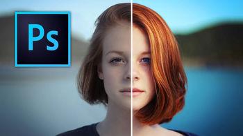 چگونه در فتوشاپ دو عکس را در یک قاب بگنجانیم؟