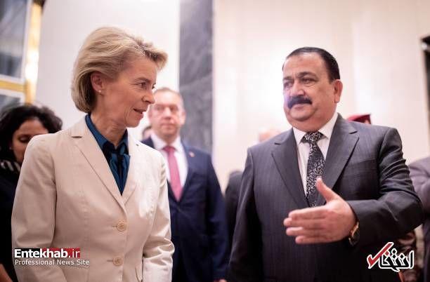وزیر دفاع آلمان در عراق