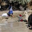 گزارش تصویری از سیل در منطقه «عورکی» سیستان و بلوچستان