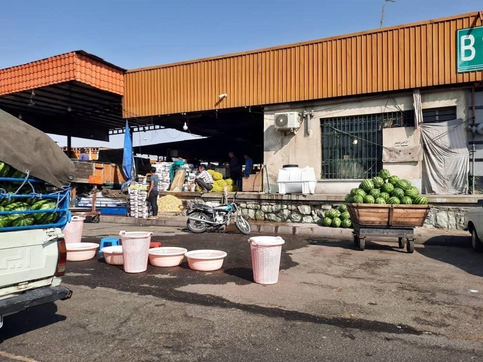 بازار میوه , سازمان میادین میوه و ترهبار , وزارت بهداشت , کشاورزی , ویروس کرونا ,