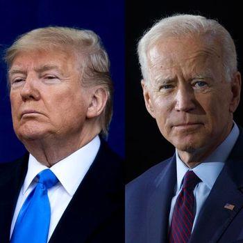 بایدن در تازهترین نظرسنجی ۱۰ درصد از ترامپ جلوتر است