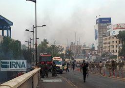 دومین روز اعتراضات تازه در عراق / فشار معترضان برای ورود به منطقه سبز بغداد
