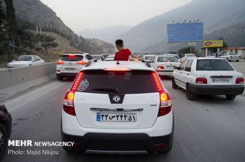 ترافیک هراز و فیروزکوه روان شد
