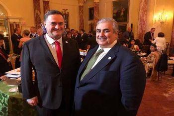 دیدار وزیرخارجه اسرائیل با عادل الجبیر