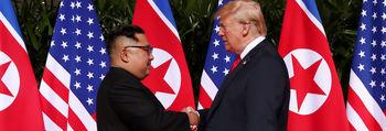 ترامپ: هدیهام به دست کیم جونگ اون نرسید