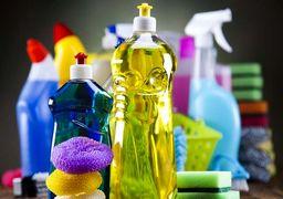 قیمت  انواع لوازم شوینده، بهداشتی و ضدعفونیکننده +جدول