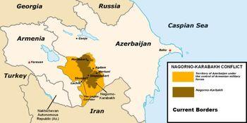 درخواست قرهباغ از ایران، روسیه و ارمنستان چیست؟