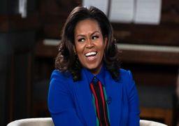 تیپ میشل اوباما  سوژه رسانه ها شد +عکس