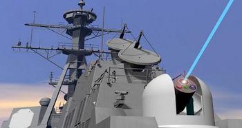نصب سلاح لیزری جدید روی ناوهای ارتش آمریکا +عکس