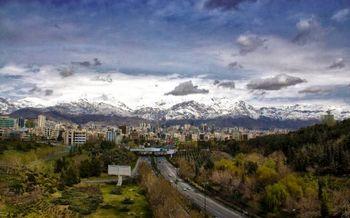 تهرانی ها یک ماه هوای سالم تنفس کردند