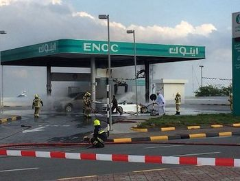 علت حادثه پمپ بنزین تاکستان مشخص شد