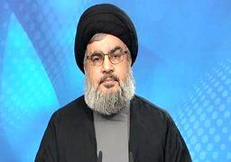 واکنش سید حسن نصرالله نسبت به شایعات مطرح شده از سوی آمریکا ضد ایران و سردار سلیمانی