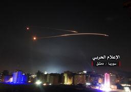 تصاویری از حملات موشکی سوریه به نقاط راهبردی رژیم صهیونیستی + عکس