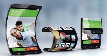 اپل هم موبایل با نمایشگر تاشو می سازد