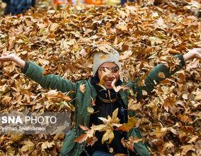 تصاویر جشنواره برگهای پاییزی در ناژوان