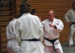 پوتین، مهمان ویژه مسابقات جودوی قهرمانی جهان