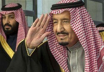 دعای پادشاه عربستان برای ترامپ