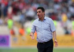 حمله شدید قلعه نویی به فدراسیون فوتبال / این مسابقه سیاسی بود!