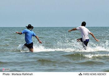 دست به آب دریای خزر نزنید