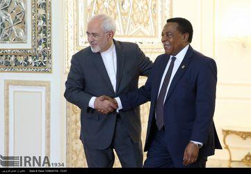 دیدار وزرای خارجه ایران و تانزانیا