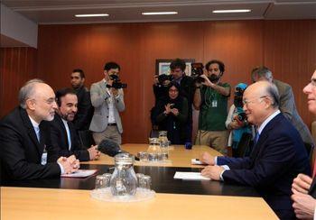 دیدار صالحی با آمانو در وین/ تاکید بر گفتوگوی منظم بین ایران و آژانس