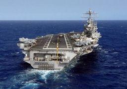 استقبال سپاه از ناو آمریکایی در خلیج فارس با شلیک راکت آزمایشی