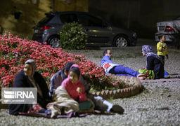 درهای پارکهای تهران به روی شهروندان بازشد؛ حضور مردم در بوستانها پس از زلزله