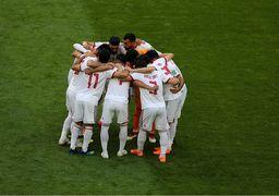 تیم ملی فوتبال ایران بدترین تیم از لحاظ دوندگی!