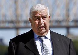 وزیر خارجه سوریه: ما به فداکاری ایران وفادار خواهیم ماند