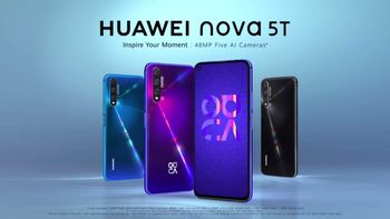 عرضه محصول جدید هوآوی Huawei nova ۵T در بازار ایران
