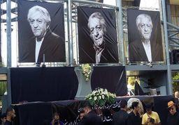 تصاویر مراسم تشییع آقای بازیگر سینمای ایران