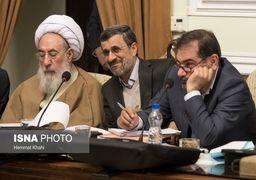 روایت آیت الله آملی لاریجانی از سوال احمدی نژاد از شمخانی در جلسه مجمع