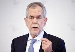 رئیسجمهور اتریش: از سخنان ترامپ در مورد ایران بوی جنگ به مشام میرسد