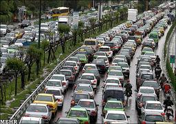 10 صحنه گردان قفل ترافیکی تهران