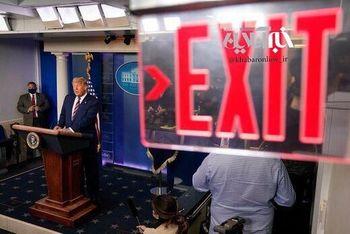 دلایل قطع پخش کنفرانس خبری دونالد ترامپ چیست؟
