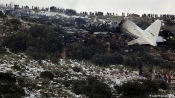 سقوط هواپیمای الجزایری با 116 سرنشین