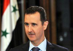 بشار اسد نشان شوالیه فرانسه را پس داد