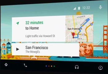 اندروید خودرو در گوگل معرفی شد