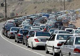 اعمال محدودیت ترافیکی در جاده قم و هراز /هراز یک طرف شد