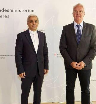 دیدار سفیر ایران با مقامات وزارت کشور اتریش