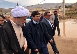 امداد رسانی ستاد اجرایی فرمان حضرت امام به سیل زدگان شیراز